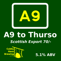 A9 to Thurso Export 70 Shilling decal