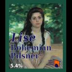 Lise bohemian pilsner decal
