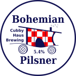 bohemian pilsner decal