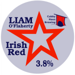 Liam O'Flaherty Iris Red decal