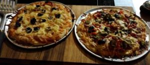 test pizzas