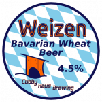 Weizen Bavarian Wheat Beer Decal