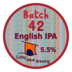 Batch 42 English IPA decal