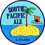south pacific ale decal